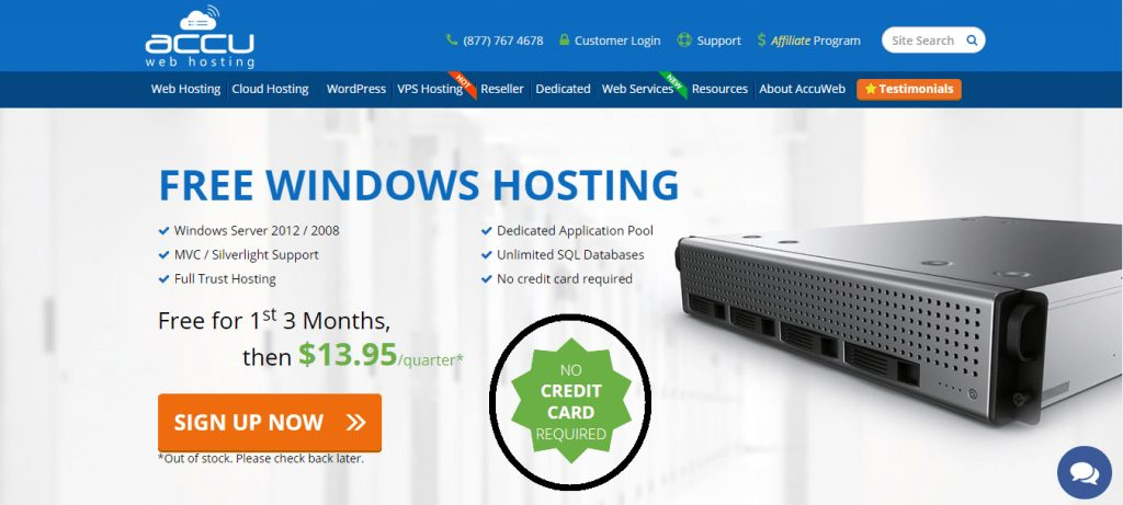 Free Trial Web Hosting