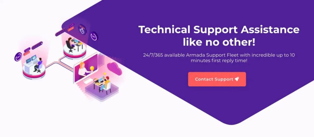 HostArmada-Review-Technical-Support